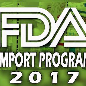 FDA New Import Program ACE for 2017 Casper Uldriks Compliance Trainings